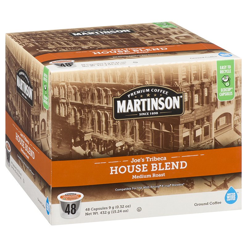Martinson's Coffee Pods - House - 48's