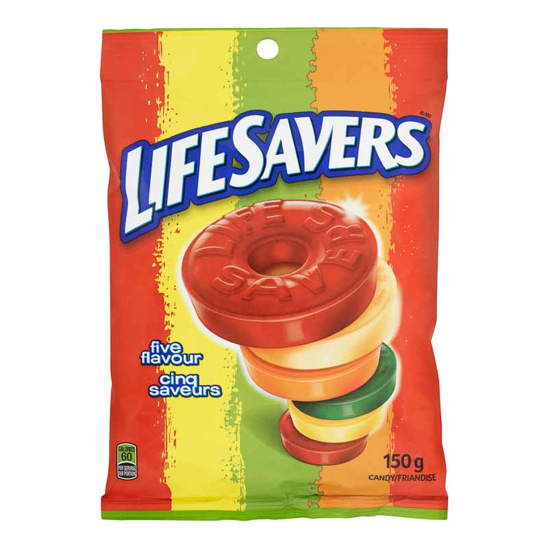 Lifesavers Five Flavors - 150g