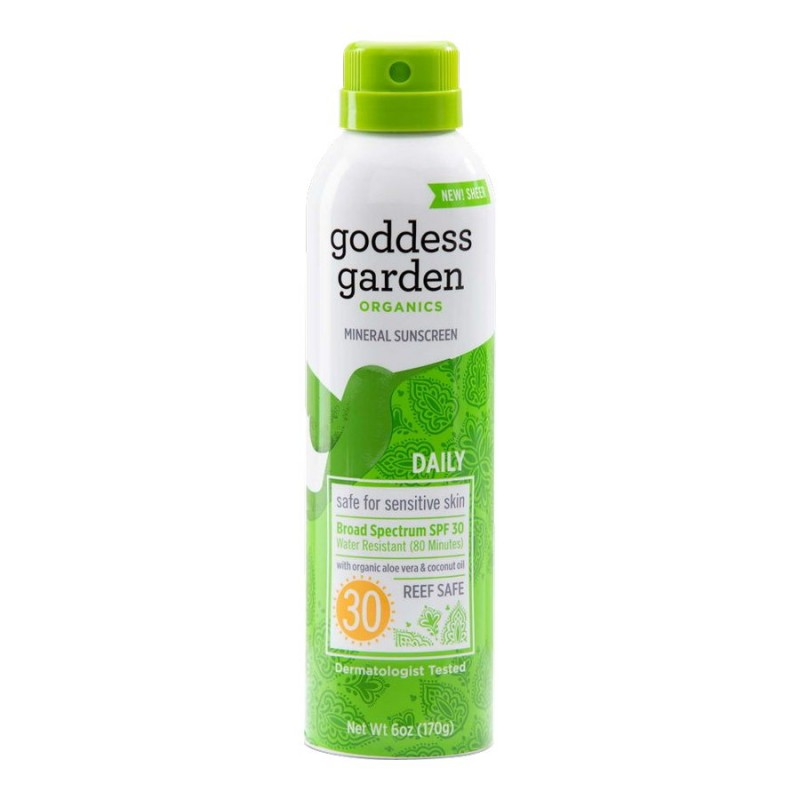 Goddess Garden Organics Everyday Natural Sunscreen Spray - SPF30 - 170g