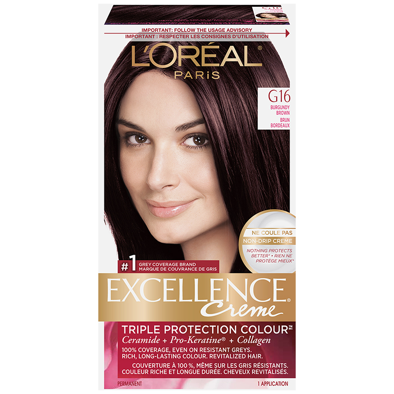 L'Oreal Excellence Creme - G16 Burgundy Brown