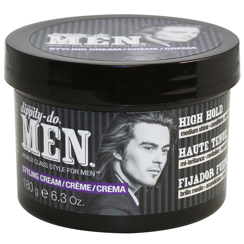 Dippity Do Men Styling Cream High Hold 180g