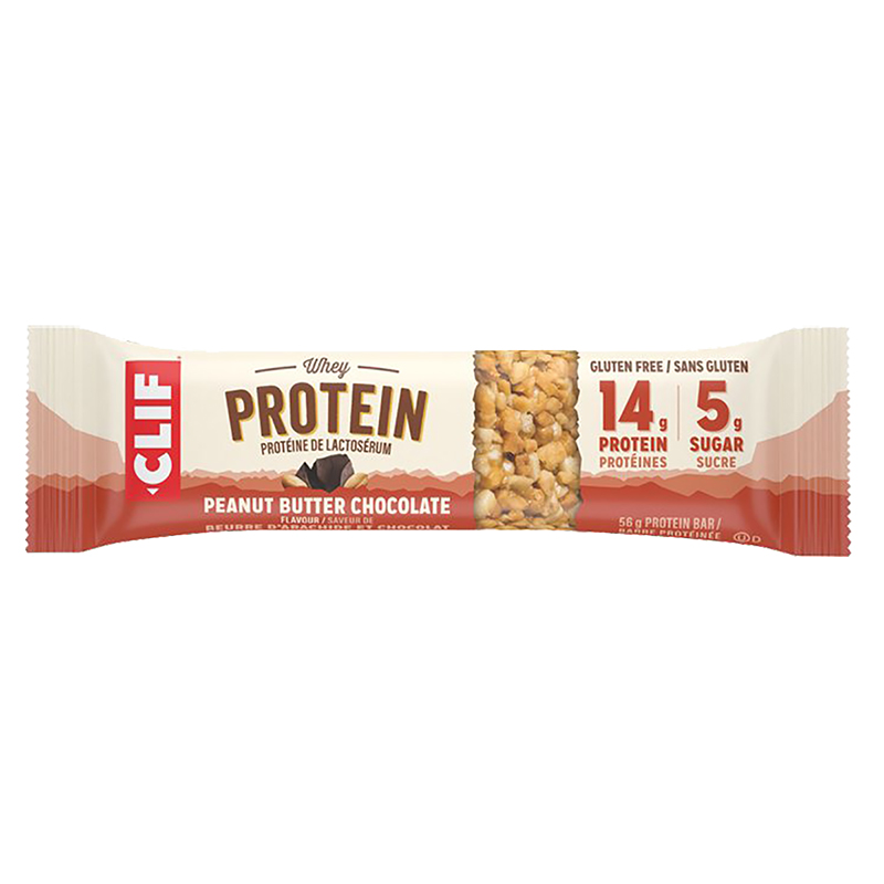 Clif Whey Protein Bar - Peanut Butter & Chocolate - 56g