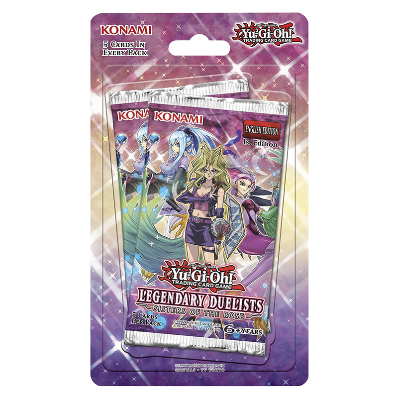 Yu-Gi-Oh Legendary Duelists Sisters of Rose - Blister Pack