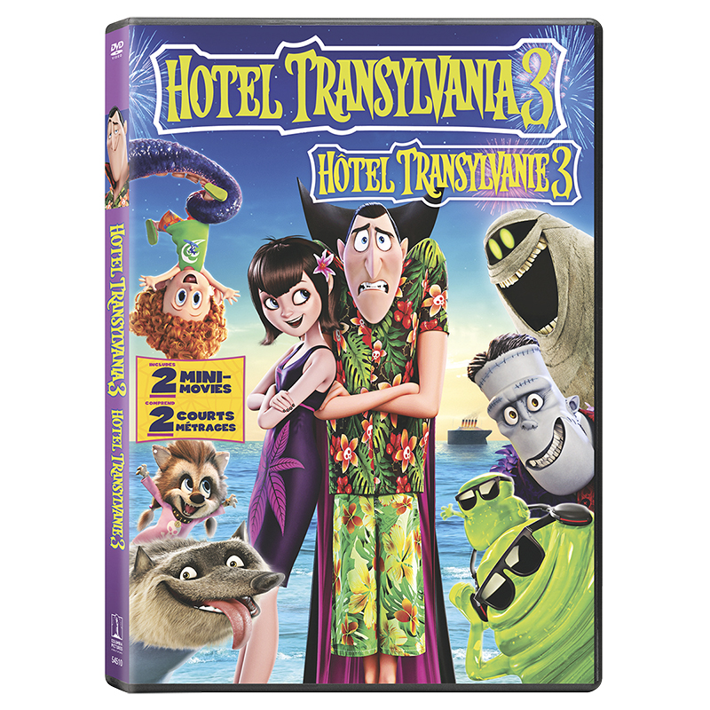 Hotel Transylvania 3: Summer Vacation - DVD