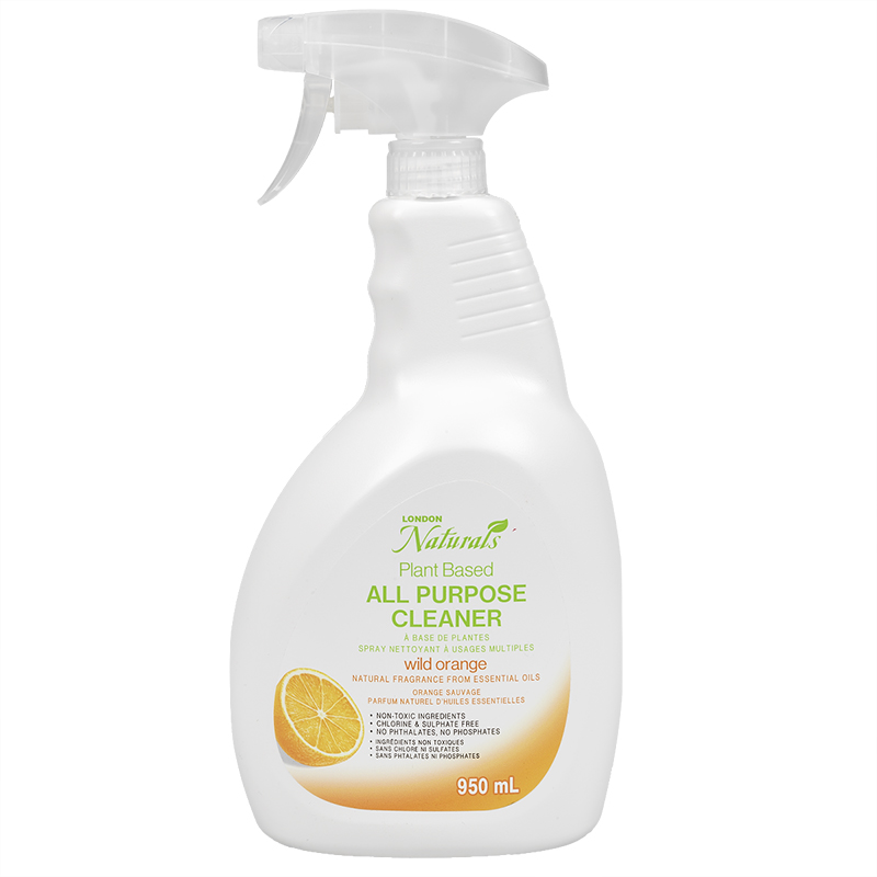 London Naturals All Purpose Cleaner - Wild Orange - 950ml