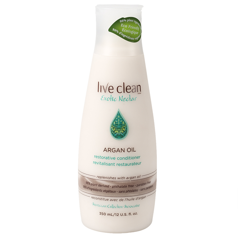 Live Clean Exotic Nectar Argan Oil Restorative Conditioner - 350ml