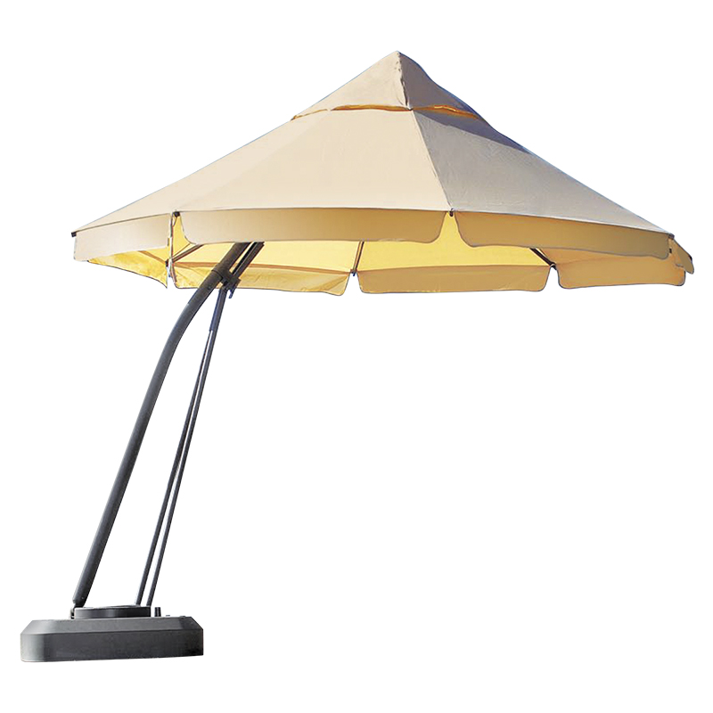 London Drugs One Touch Patio Umbrella - Beige