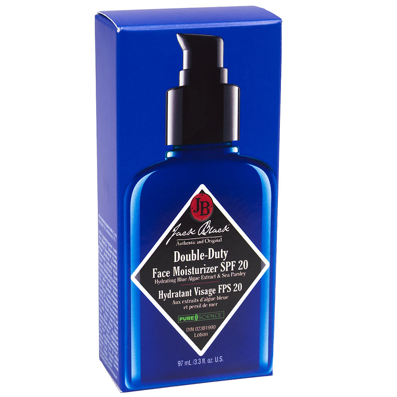 Jack Black - Double-Duty Face Moisturizer with SPF 20 - 97ml