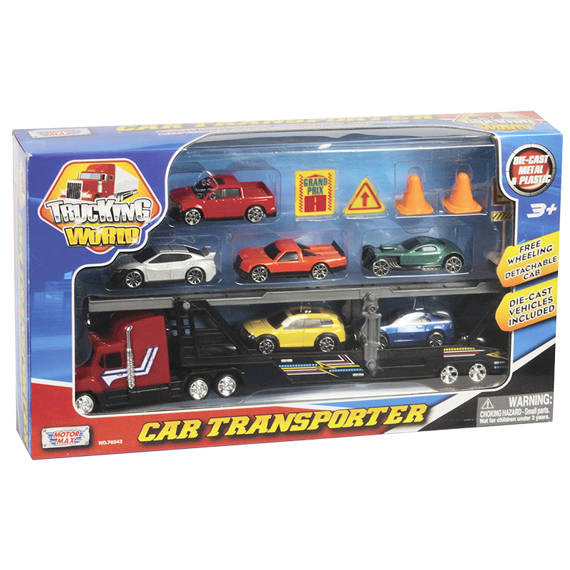 Motormax Car Carrier - Assorted