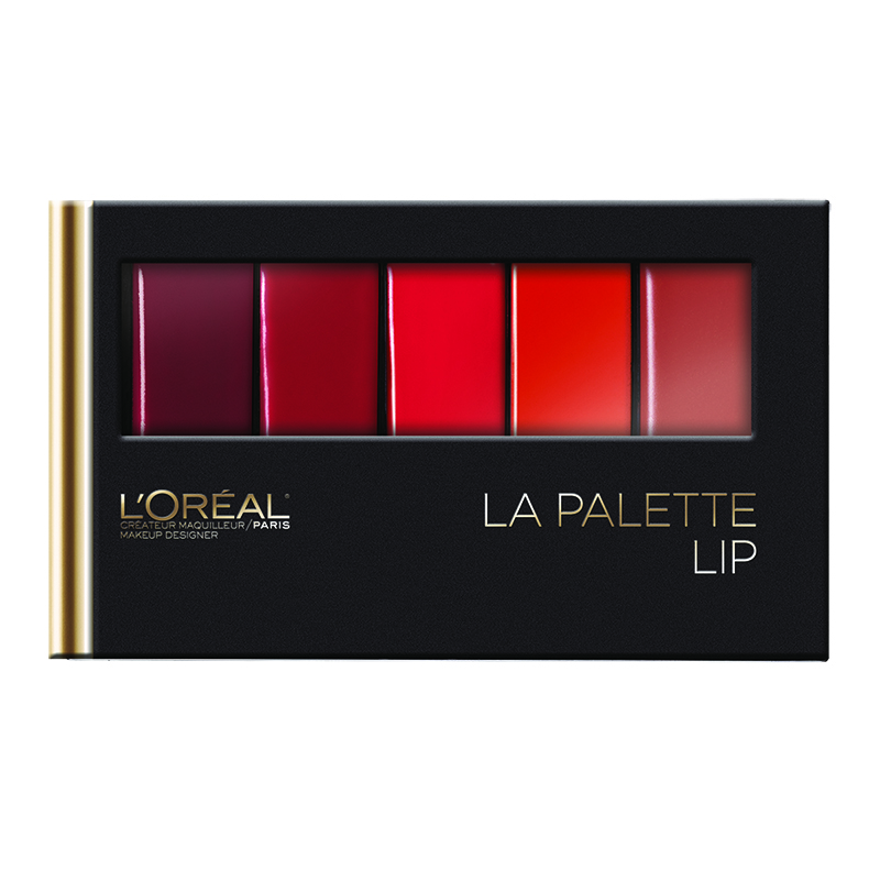 L'Oreal Colour Riche La Palette Lip - Red