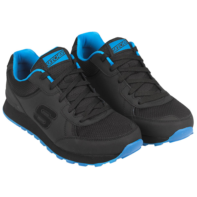 Skechers Men's OG 85 Sirles Athletic Shoes - Black Blue