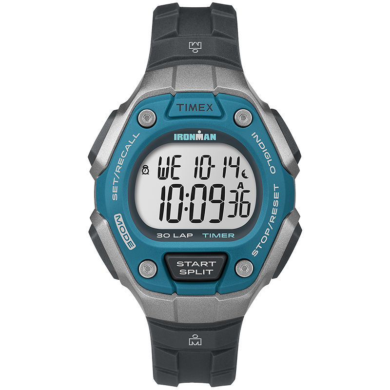 Timex Ironman Watch - Blue/Black - TW5K89300GP