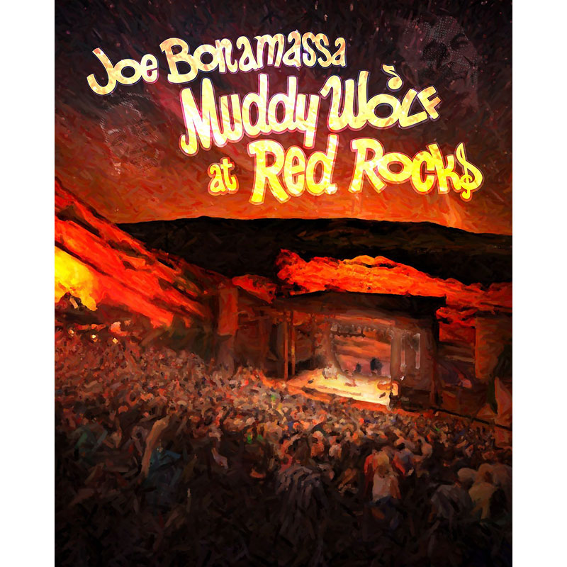 Joe Bonamassa - Muddy Wolf at Red Rocks - DVD