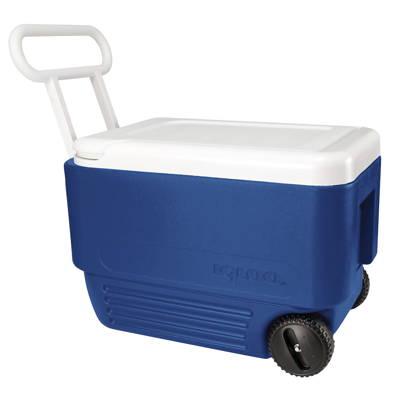 Igloo Wheelie Cooler - Majestic Blue - 36L