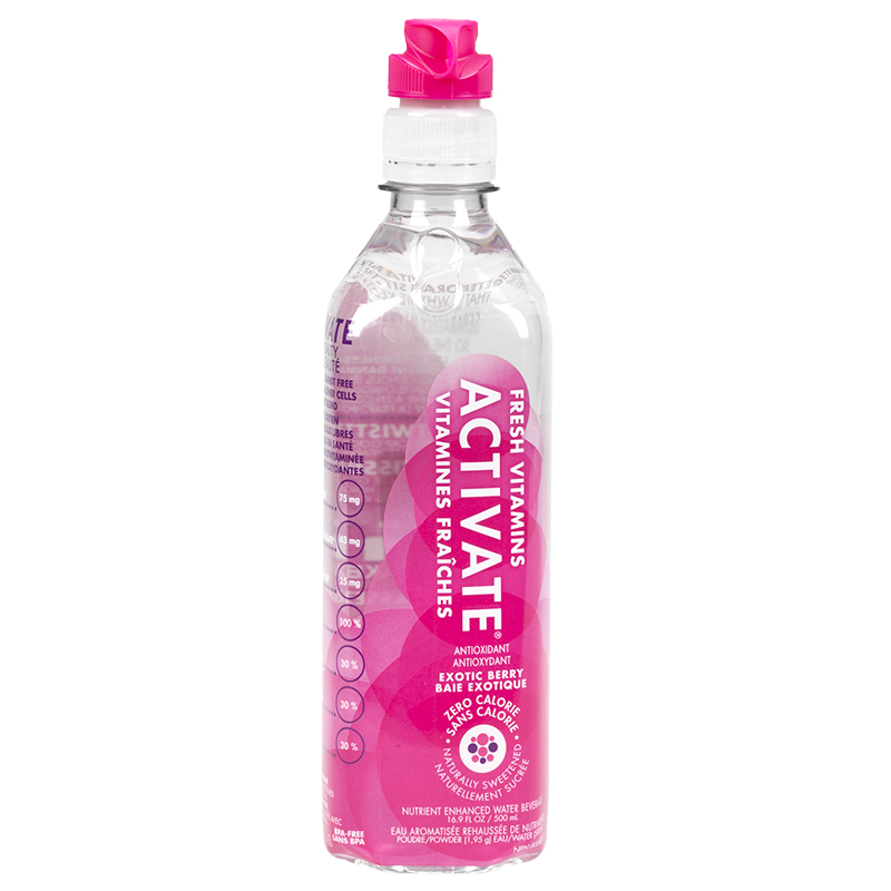 Activate-Water -  Exotic Berry - 500ml