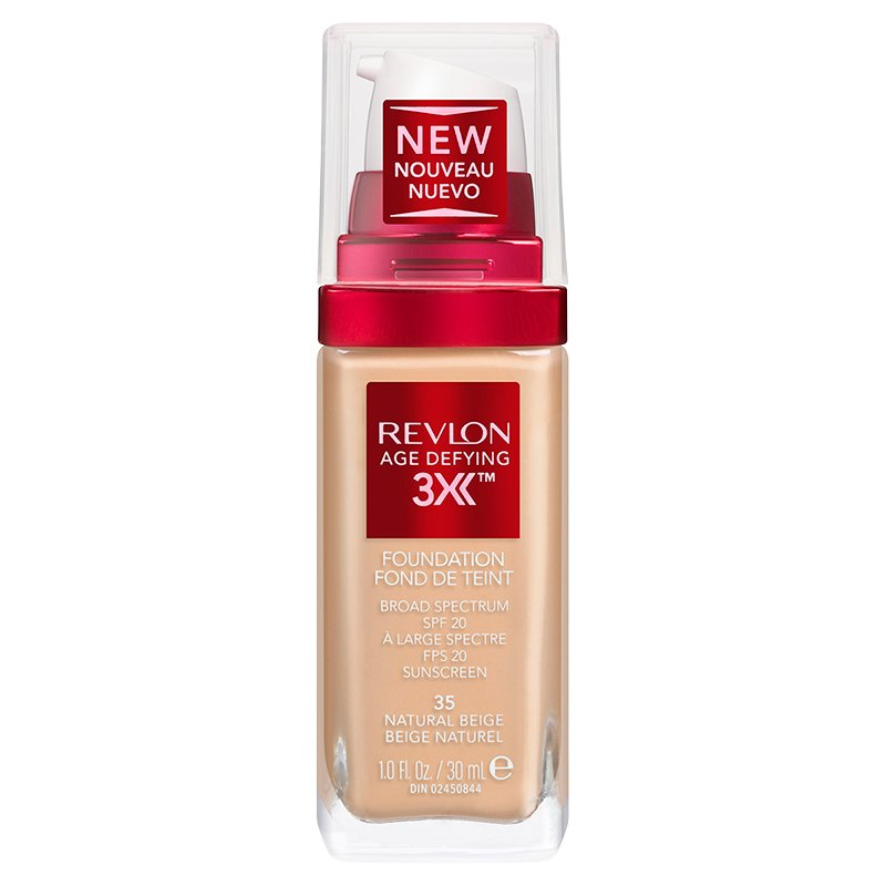 Revlon Age Defying Firming and Lifting Makeup - Natural Beige