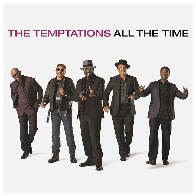 The Temptations - All The Time - CD