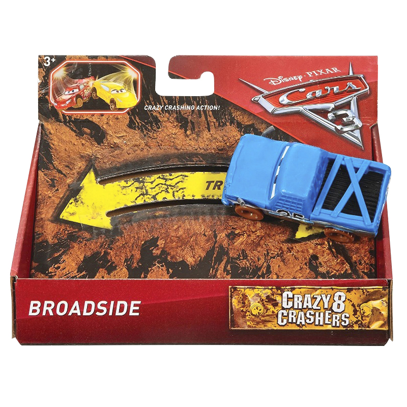 Cars 3 Bumper Basher - Crazy 8 Crashers - Assorted