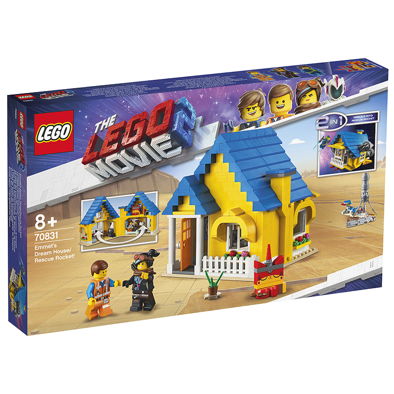 LEGO® Movie 2 - Emmet's Dream House/Rescue Rocket! - 70831