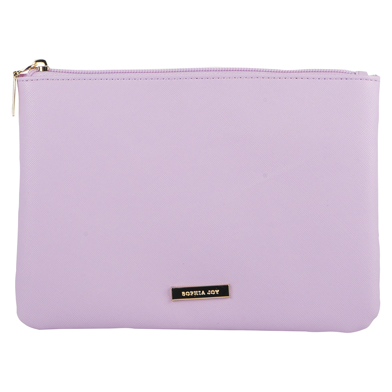 Sophia Joy Small Flat Clutch - Purple - A013881LDC