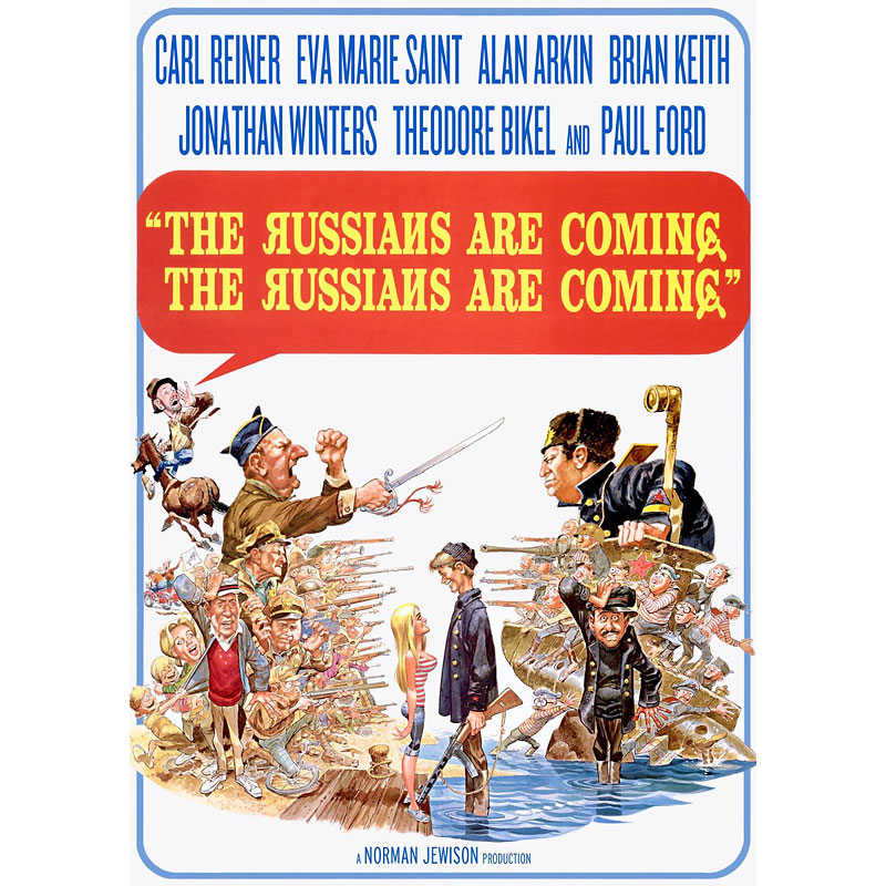 The Russians Are Coming, The Russians Are Coming - DVD