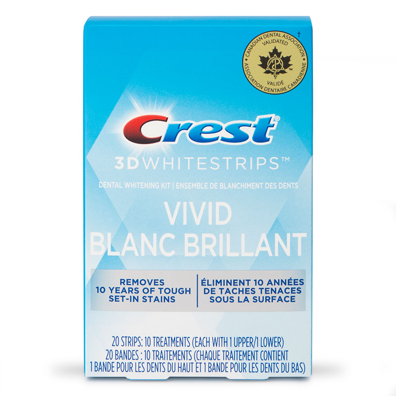 Crest 3D White Whitestrips - Classic Vivid - 10 Treatments