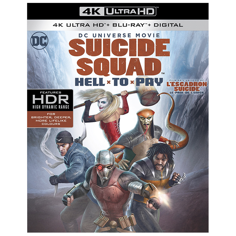 DCU: Suicide Squad: Hell to Pay - 4K UHD Blu-ray