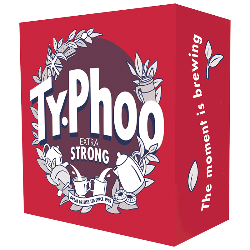 Typhoo Extra Strong Tea - 80's