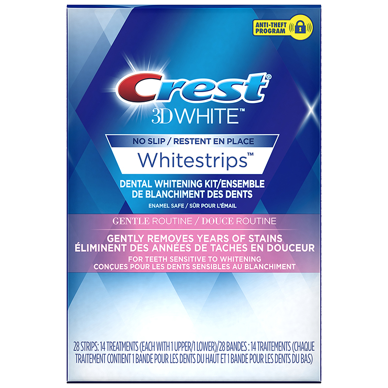 Crest 3D White Whitestrips - Gentle Routine - 14 Treatments