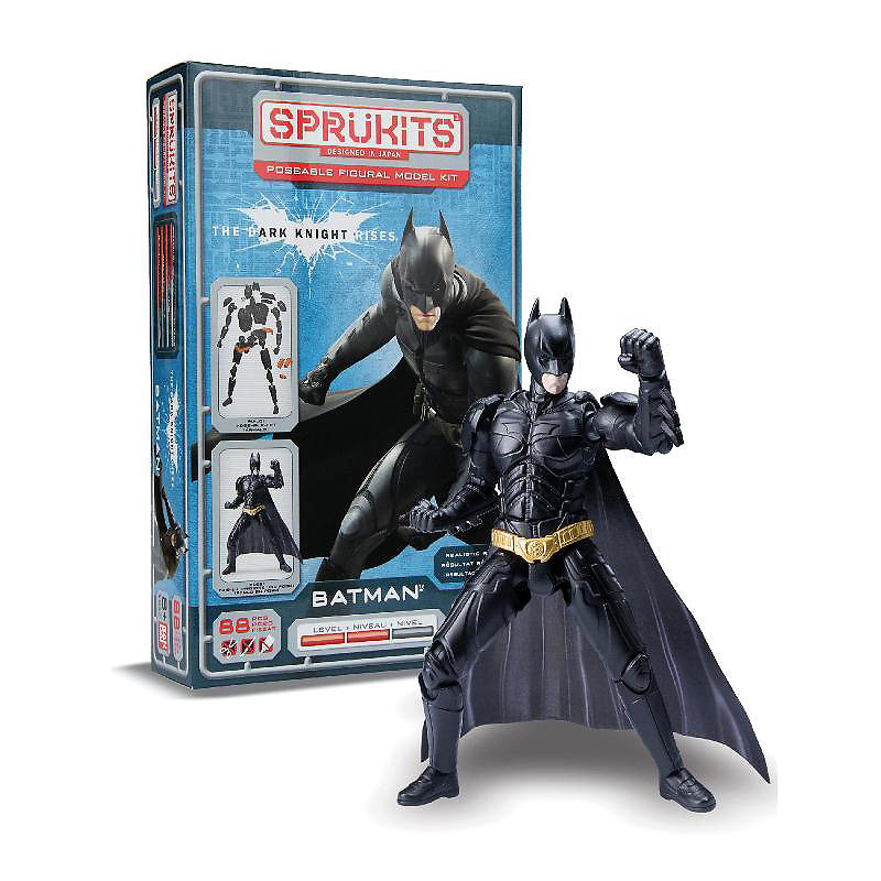Sprukits Level 2 Batman Dark Knight Model Kit - 5 in - Assorted