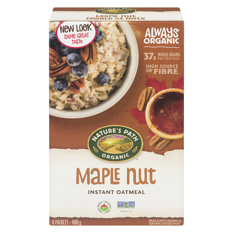 Nature's Path Hot Oatmeal - Maple Nut - 400g