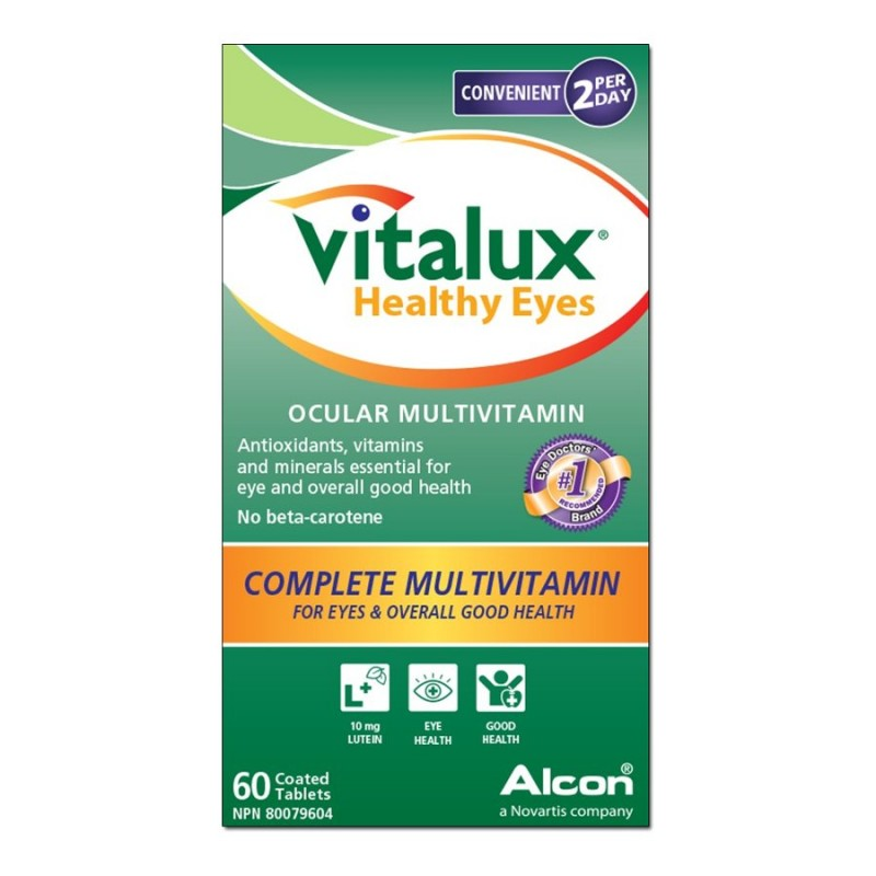 Vitalux Healthy Eyes - 60 coated tablets