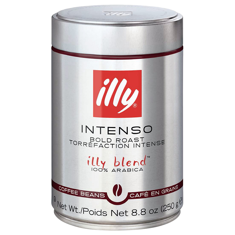 Illy Intenso Bold Roast - Whole Coffee Beans - 250g