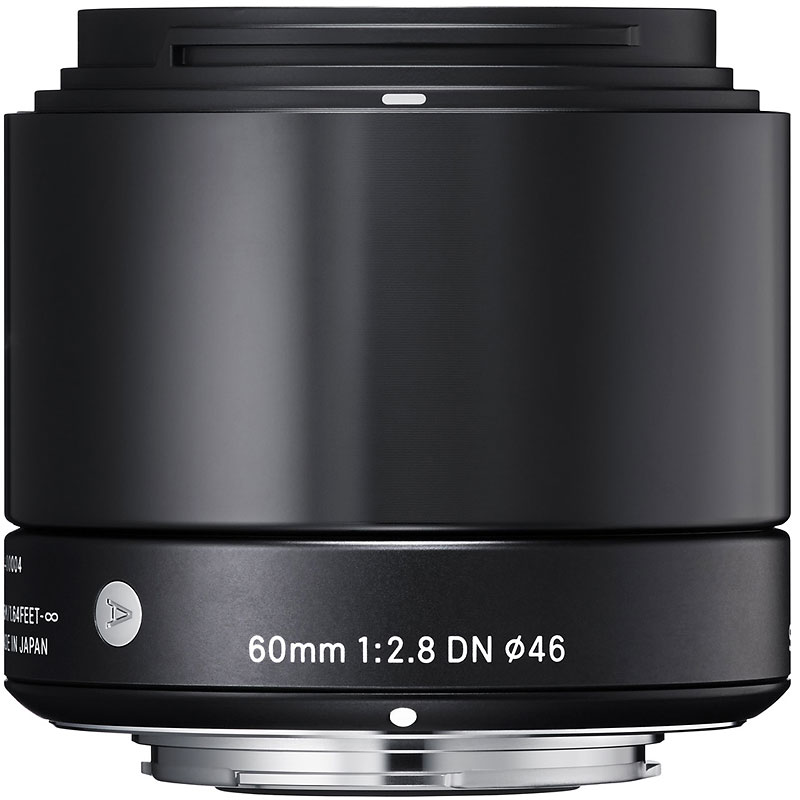 Sigma Art 60mm F2.8 DN Black Lens for Micro Four Thirds - A60DNBKMFT