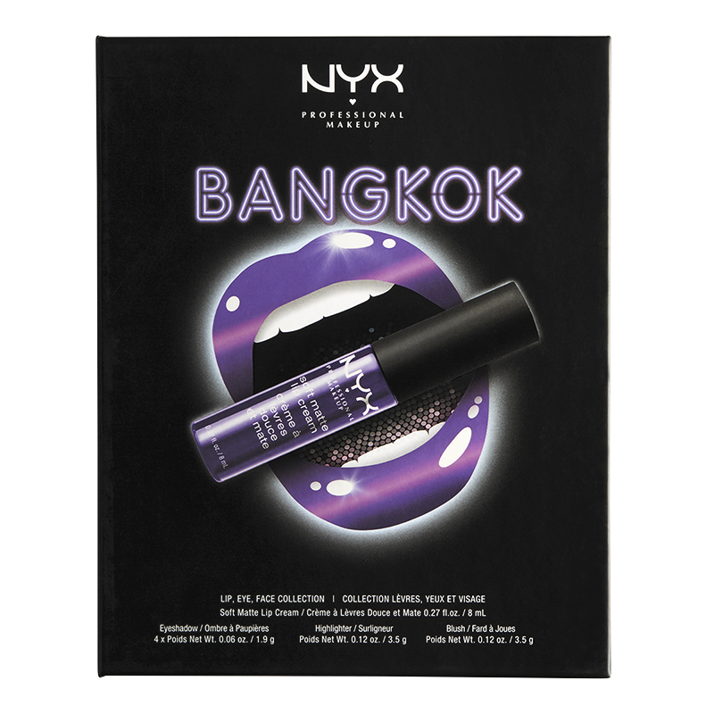 NYX Professional Makeup Wanderlust City Set - Bangkok
