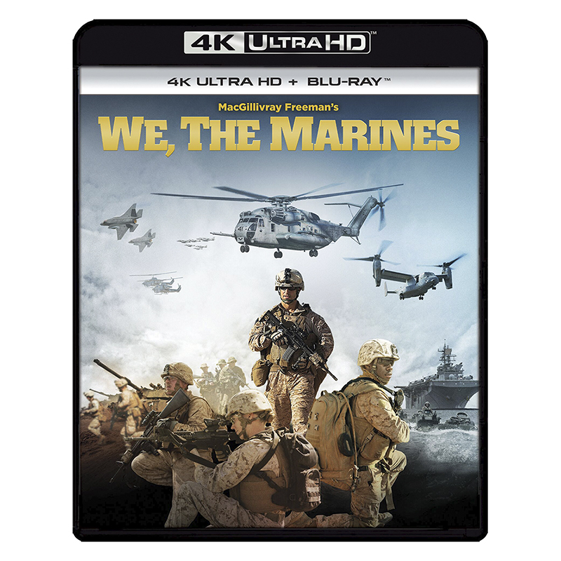 IMAX: We, The Marines - 4K UHD Blu-ray