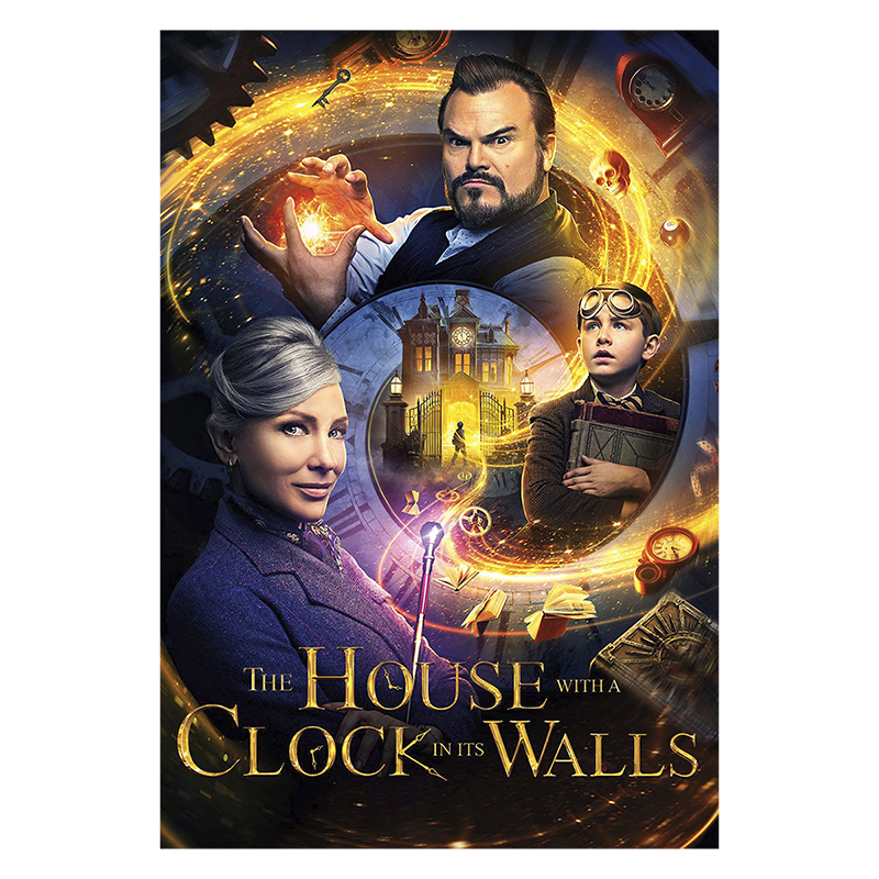 The House with a Clock in Its Walls - DVD