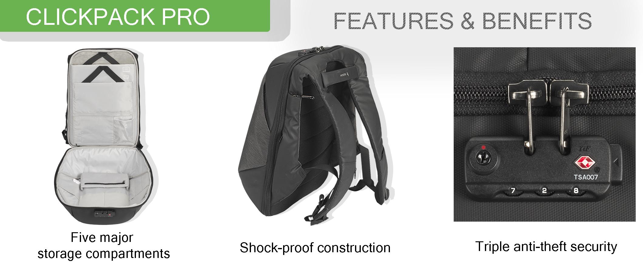 Korin Clickpack Pro