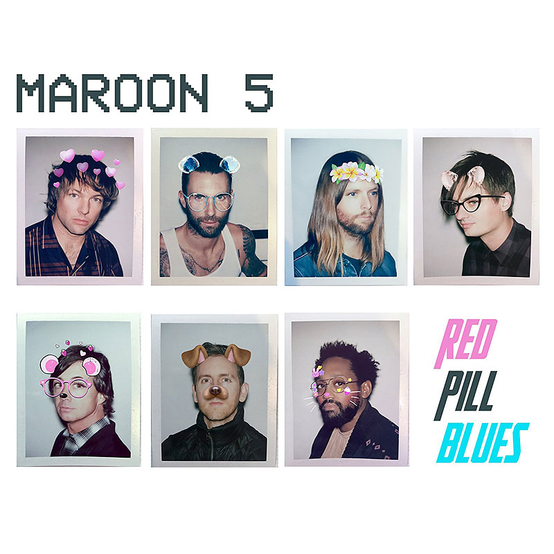 Maroon 5 - Red Pill Blues - CD
