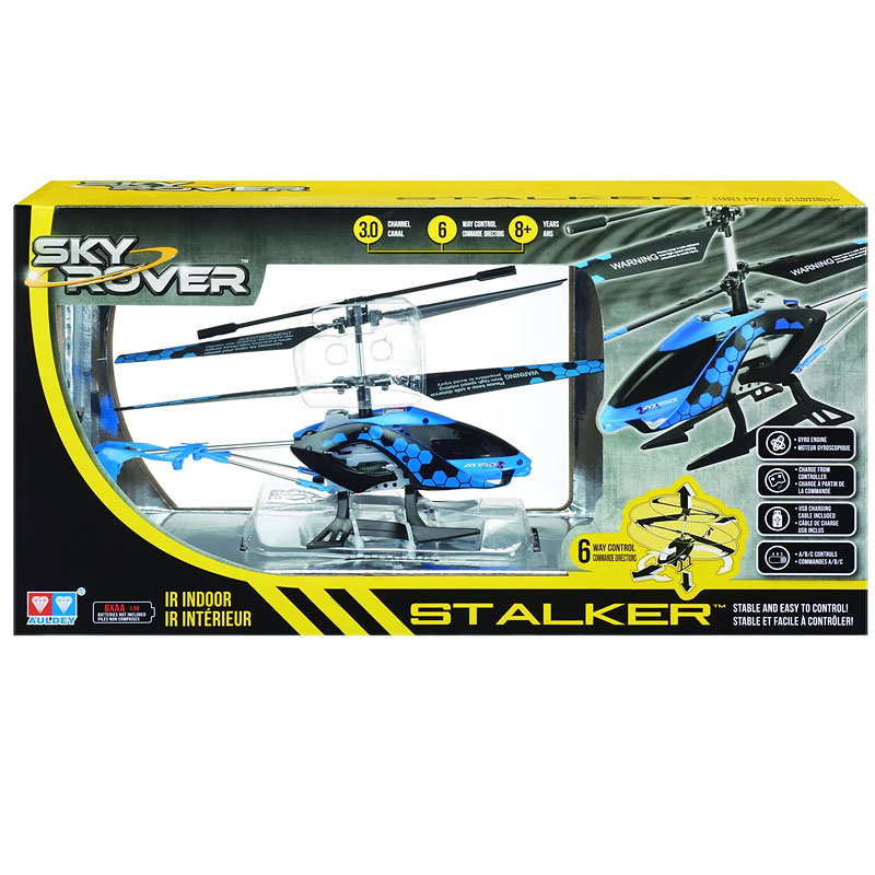 Sky Rover Stalker RC Helicopter - Assorted