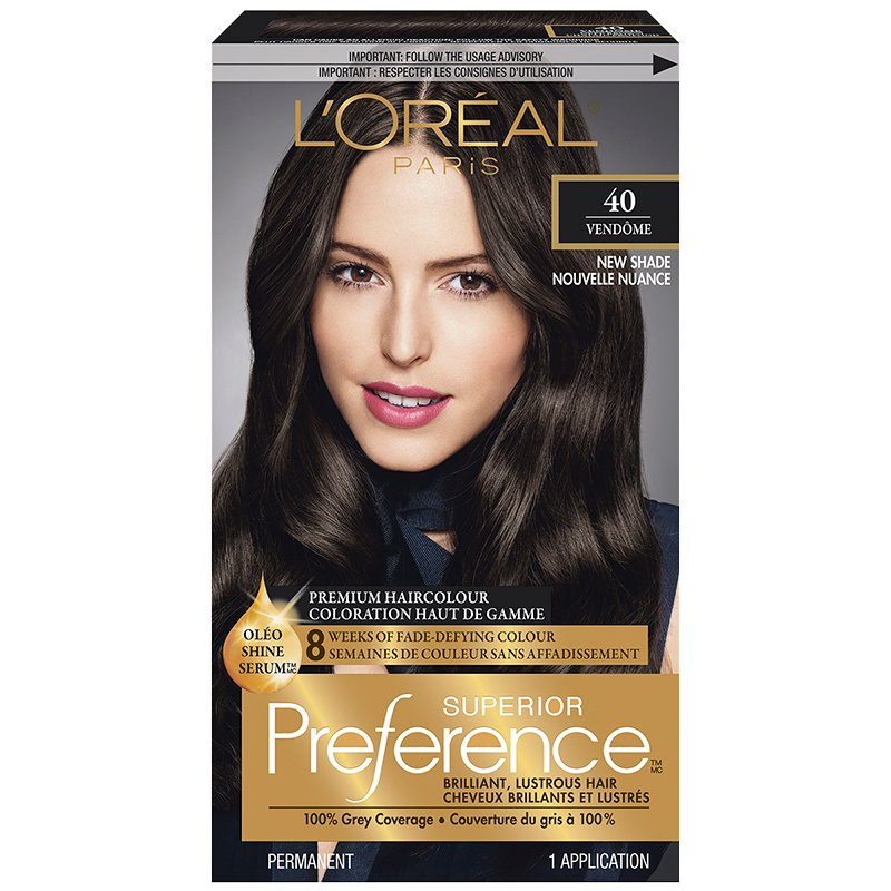 Loreal Superior Preference Fade Defying Colour Shine System 40