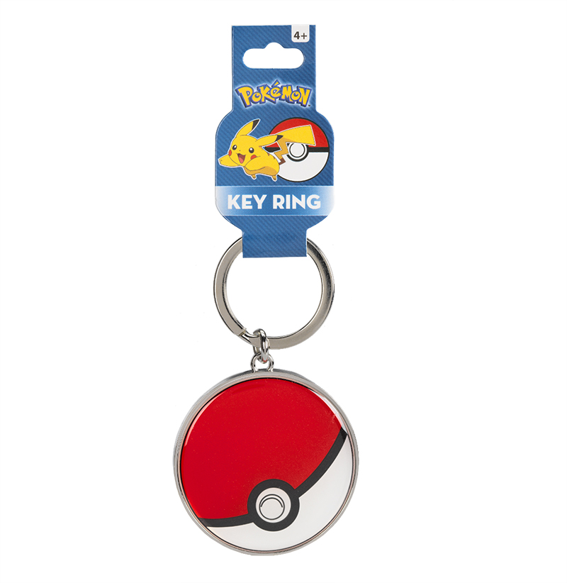Pokemon Metal Keychain - Assorted