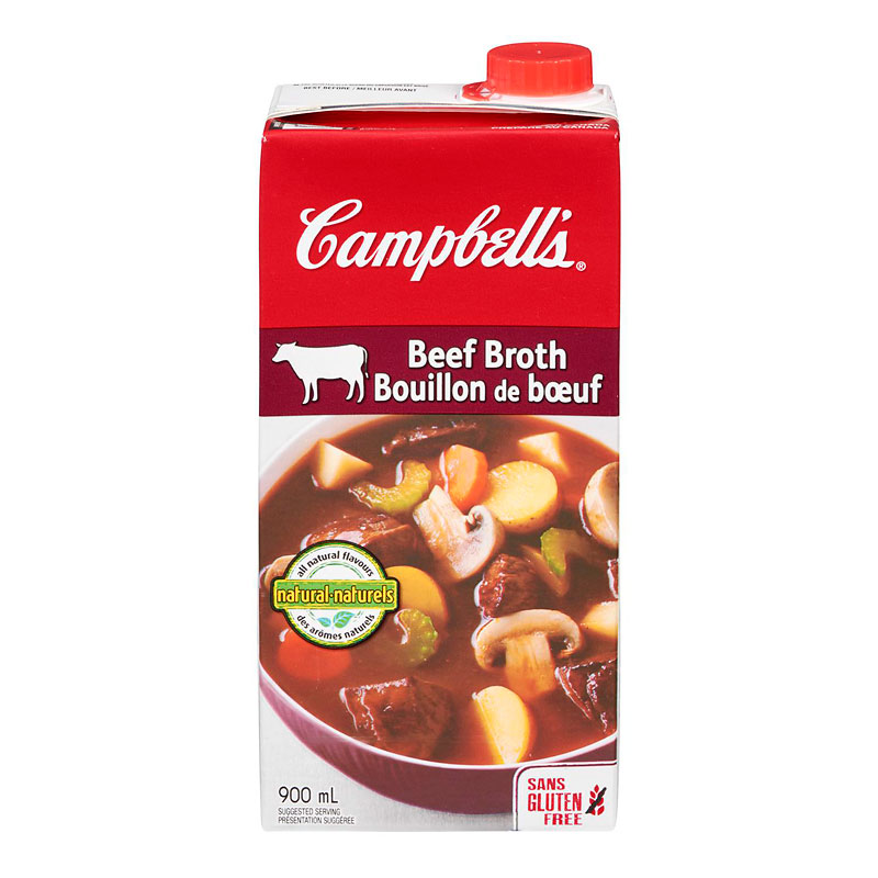 Campbell's Beef Broth - 900ml