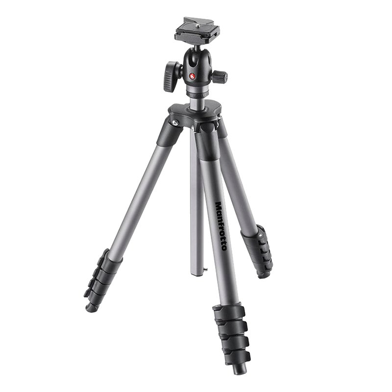 Manfrotto Compact Advanced Tripod Kit with Ball Head - MKCADVBHBK