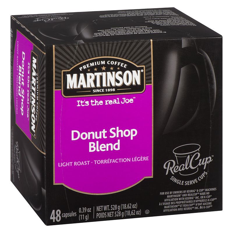 Martinson's Coffee Pods - Donut Shop Blend - 48's