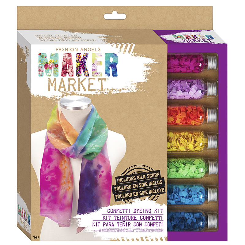 Fashion Angels Makers Market Confetti Dyeing Kit