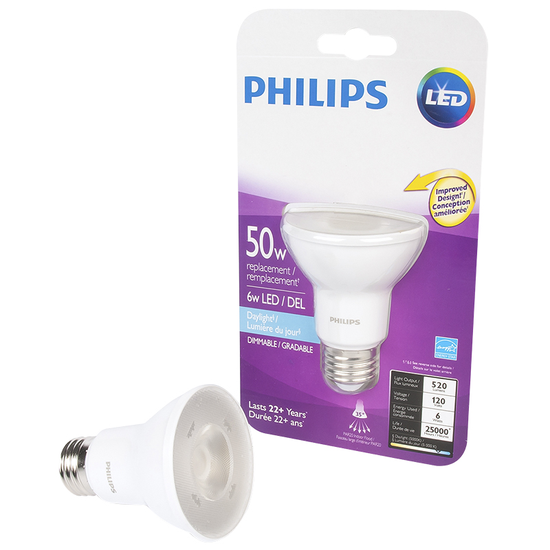 Philips LED Replacement Bulb - Daylight - 50W
