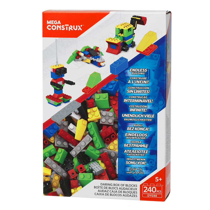 Mega Bloks - Large Box of Blocks