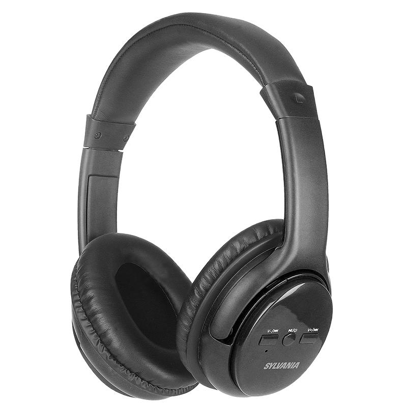 sylvania bluetooth headphones black sbt225black london drugs rh londondrugs com