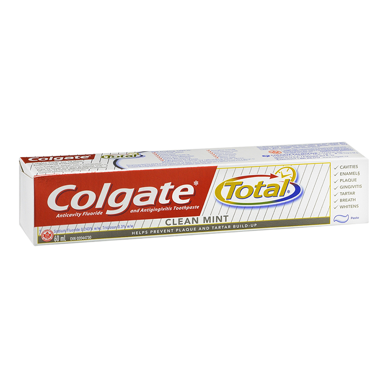 Colgate Total Toothpaste - Clean Mint - 60ml